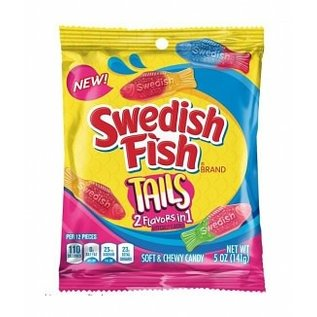 Swedish Fish Tails 2 Flavors in 1