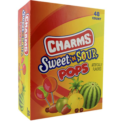 Sweet And Sour Blow Pops (48 Count)