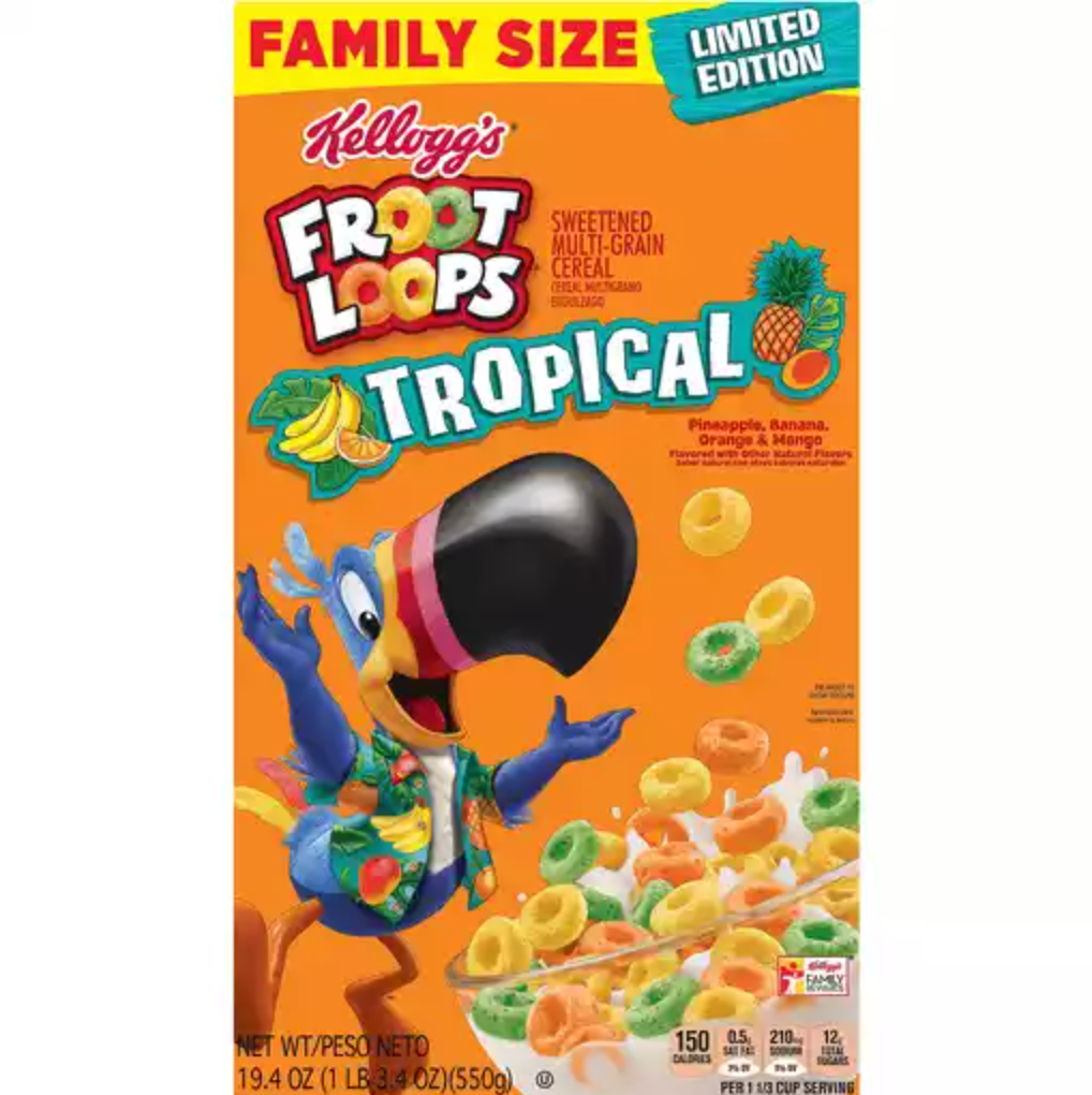 Tropical Fruit Loops
