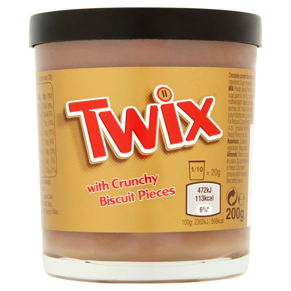 Twix Spreads (From UK)