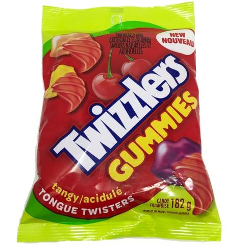 Twizzlers Gummies Tongue Twisters Cherry