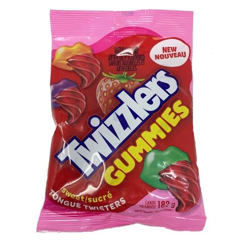 Twizzlers Gummies Tongue Twisters Strawberry