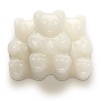 Albanese White Strawberry Banana Bear Gummies 5lb Bag