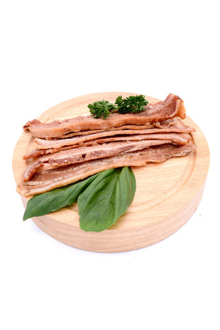 plain bacon biltong