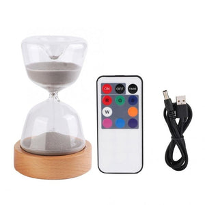 15 Minutes Sand Timer with LED Light