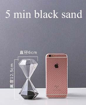 5 Minutes Diamond Shaped Sand Clock
