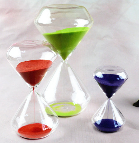 5/15/30 Minutes Multi-Color Hourglass Clock