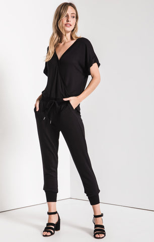 The Wrap Front Jumpsuit by Z SUPPLY