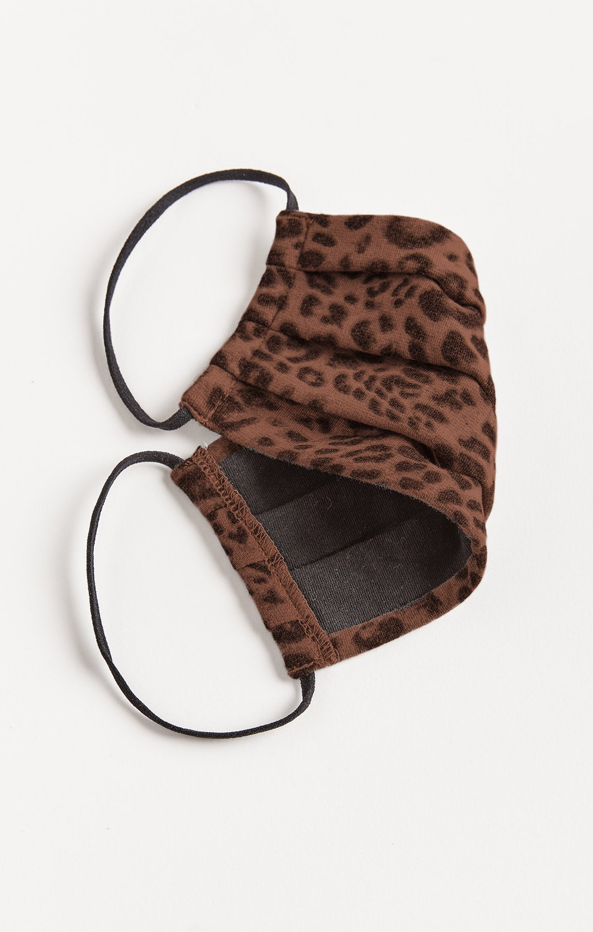 Accessories Leopard Reusable Face Mask (2-Pack) French Roast/ Black