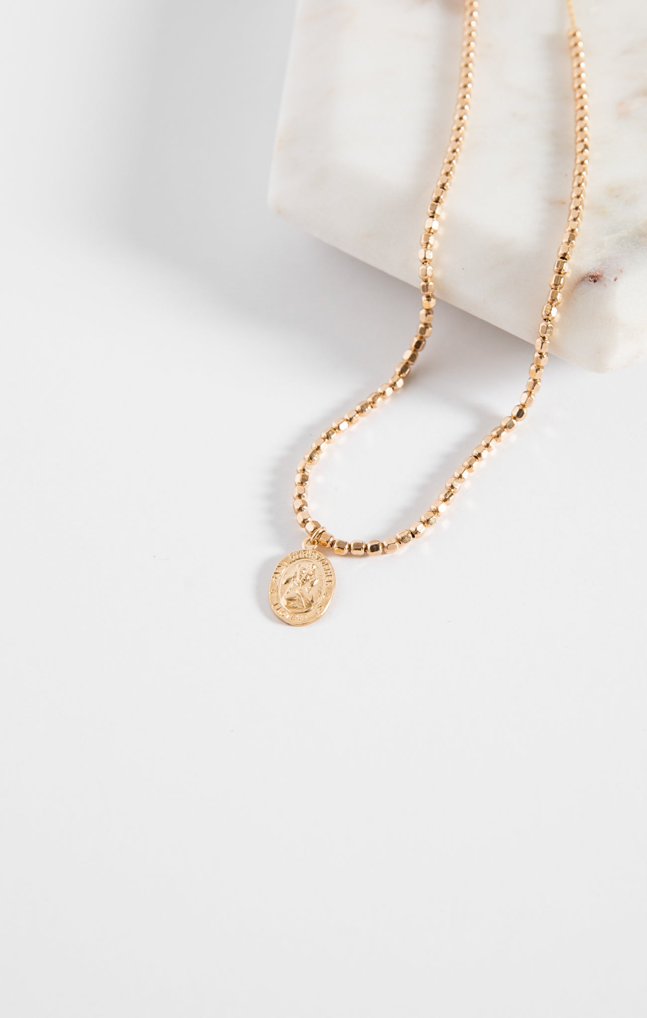 Jewelry St. Christopher Necklace By FLEURI St. Christopher Necklace By FLEURI