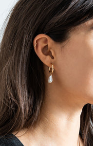 JewelryCamille Earrings By FLEURI Gold