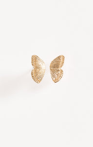 JewelryDani Butterfly Earrings By Five And Two Gold
