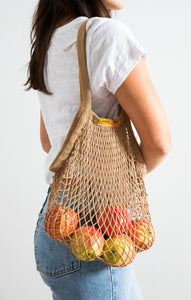 Sustainable GiftsOrganic Botanical Dyed Tote By The Sunshine Series Coffee