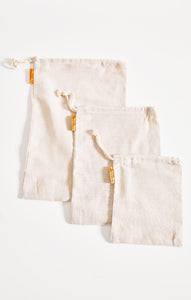 Sustainable GiftsReusable Produce Bags (7-Pack) By The Sunshine Series Natural