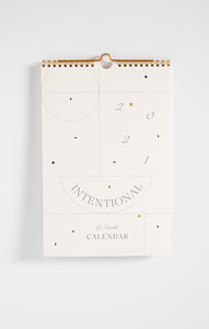 Paper Goods2021 Intentional Wall Calendar by Wilde House Paper Multi