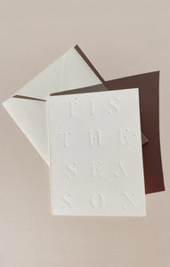 Paper GoodsTis The Season Card by Wilde House Paper Multi