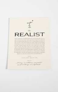 Paper GoodsThe Realist Art Print by Wilde House Paper Multi