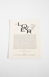 Paper GoodsThe Lover Art Print by Wilde House Paper Multi