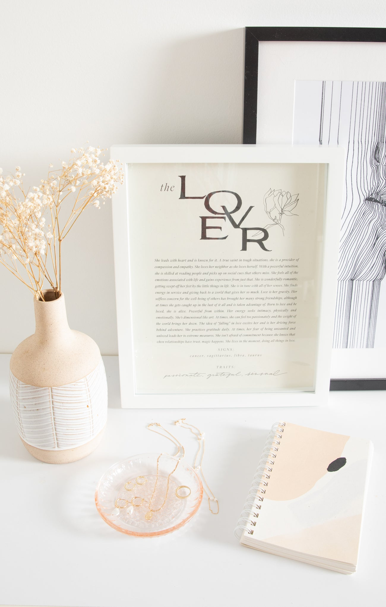 Paper Goods The Lover Art Print by Wilde House Paper The Lover Art Print by Wilde House Paper