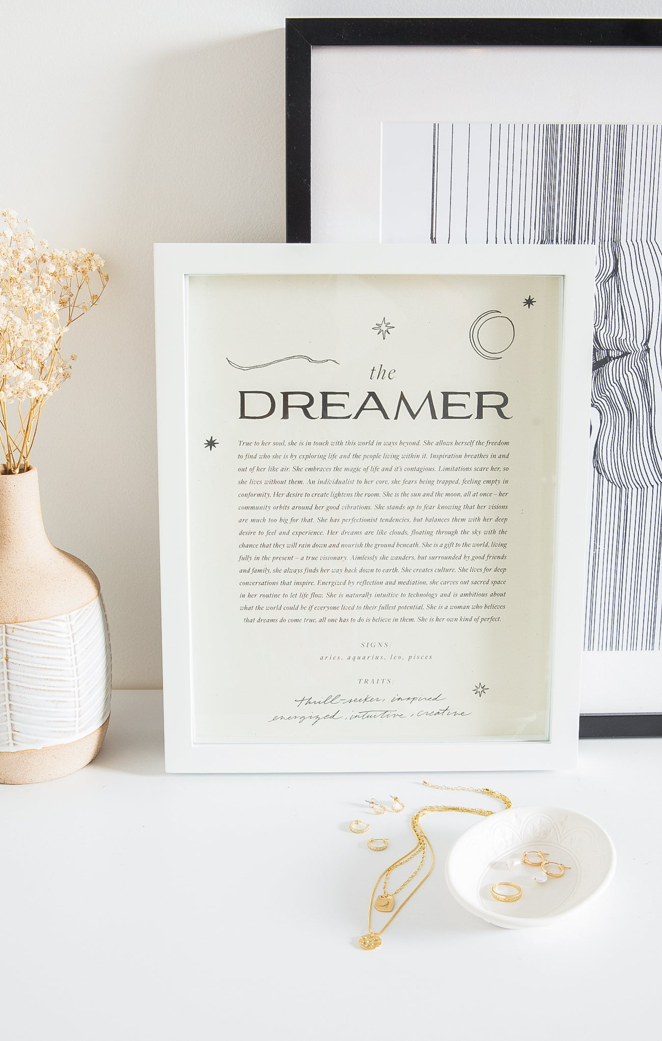 Paper Goods The Dreamer Art Print by Wilde House Paper Multi