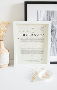 Paper GoodsThe Dreamer Art Print by Wilde House Paper Multi