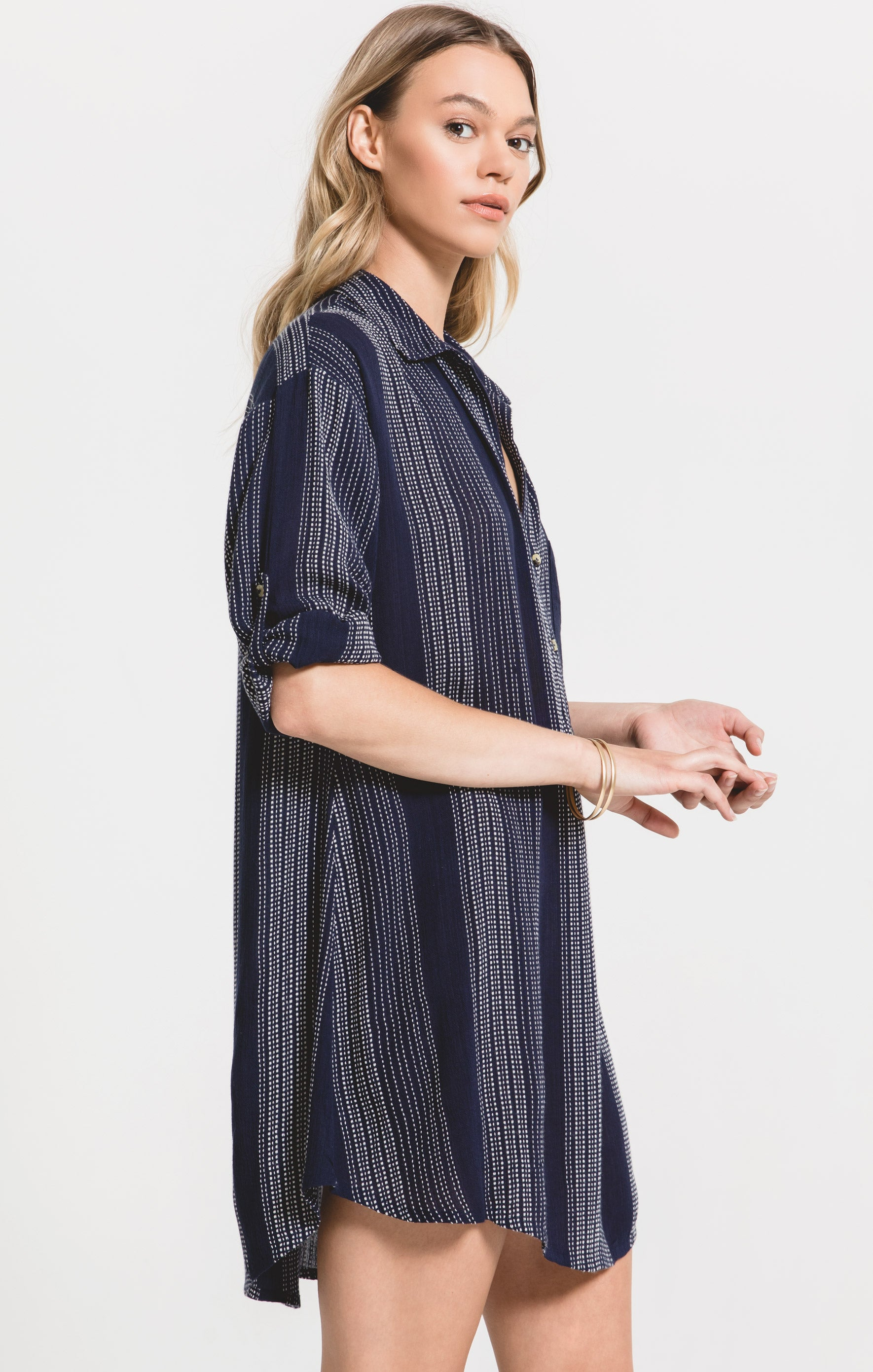 Dresses La Pelosa Dress by Rag Poets Black Iris