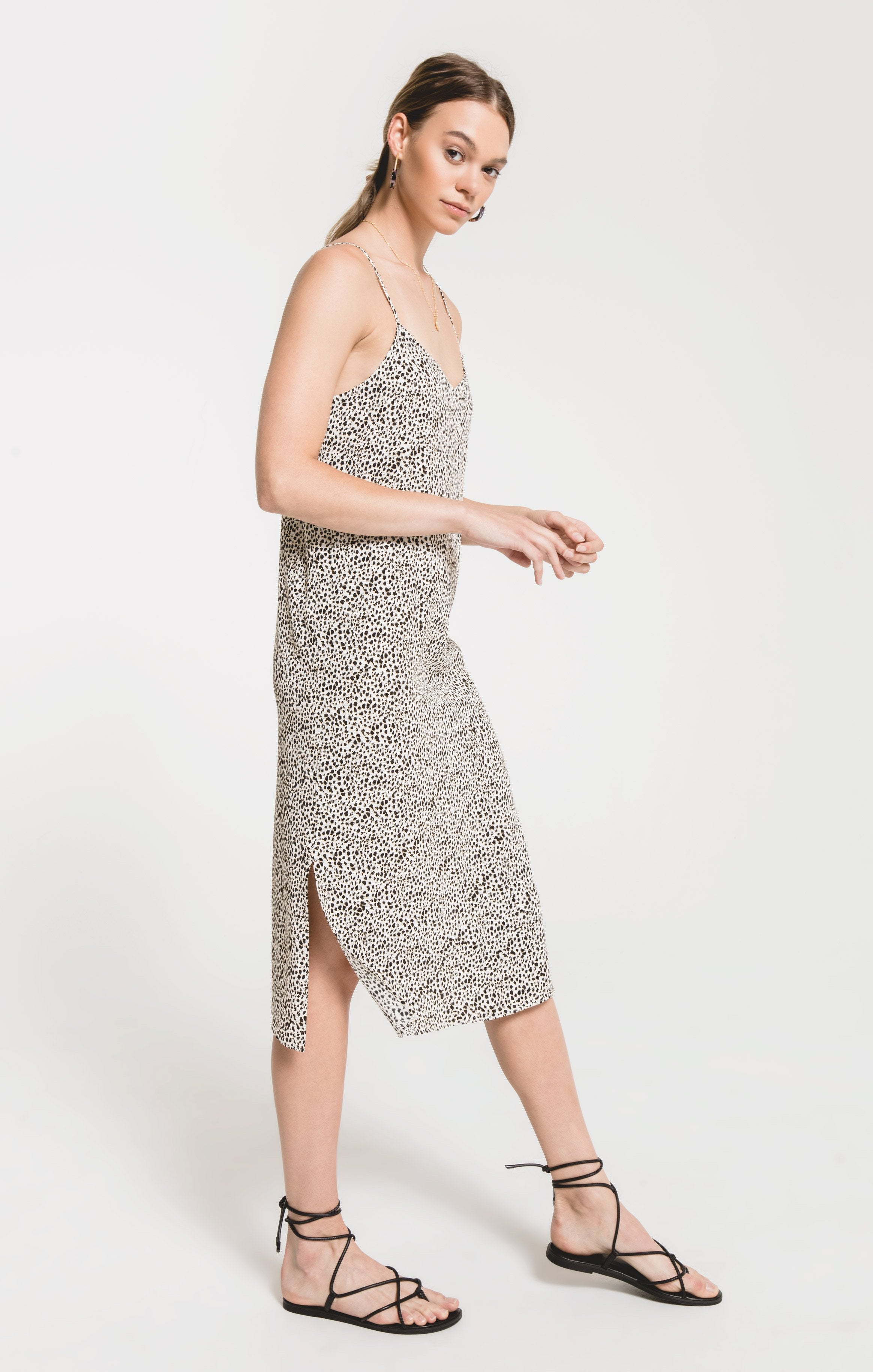 Dresses Bella Riva Print Dress by Rag Poets Sesame