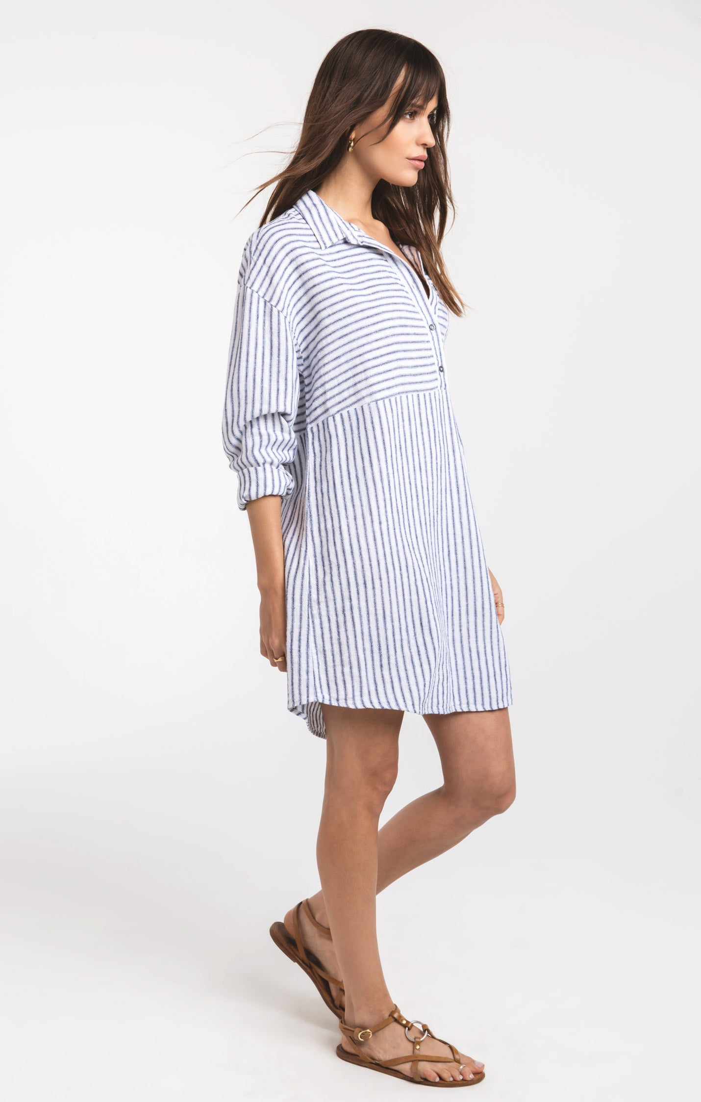 Dresses Gili Island Dress by Rag Poets White/Black