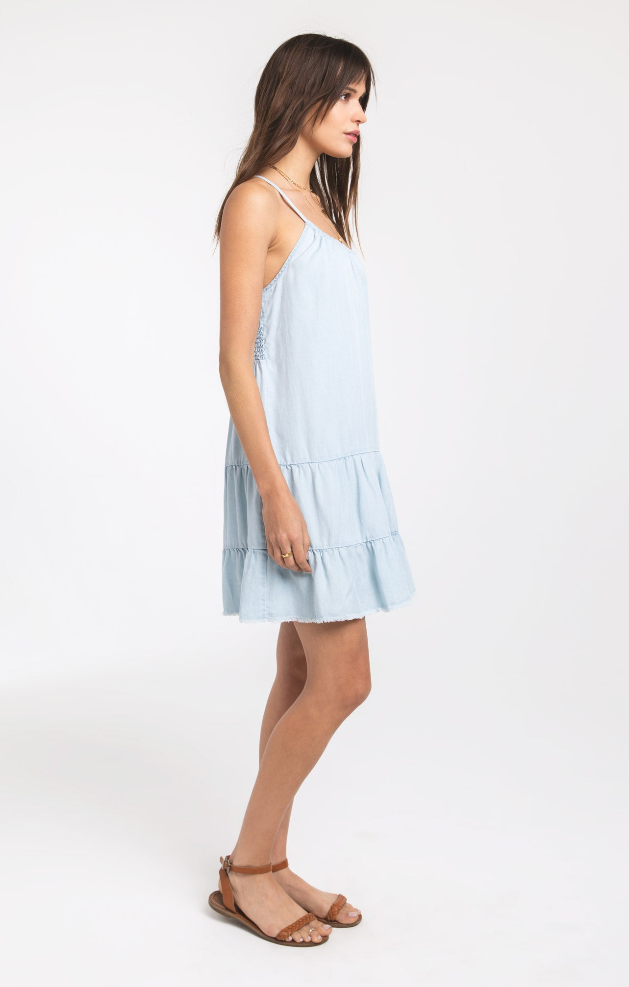 Dresses Ksatria Dress by Rag Poets Light Blue Wash
