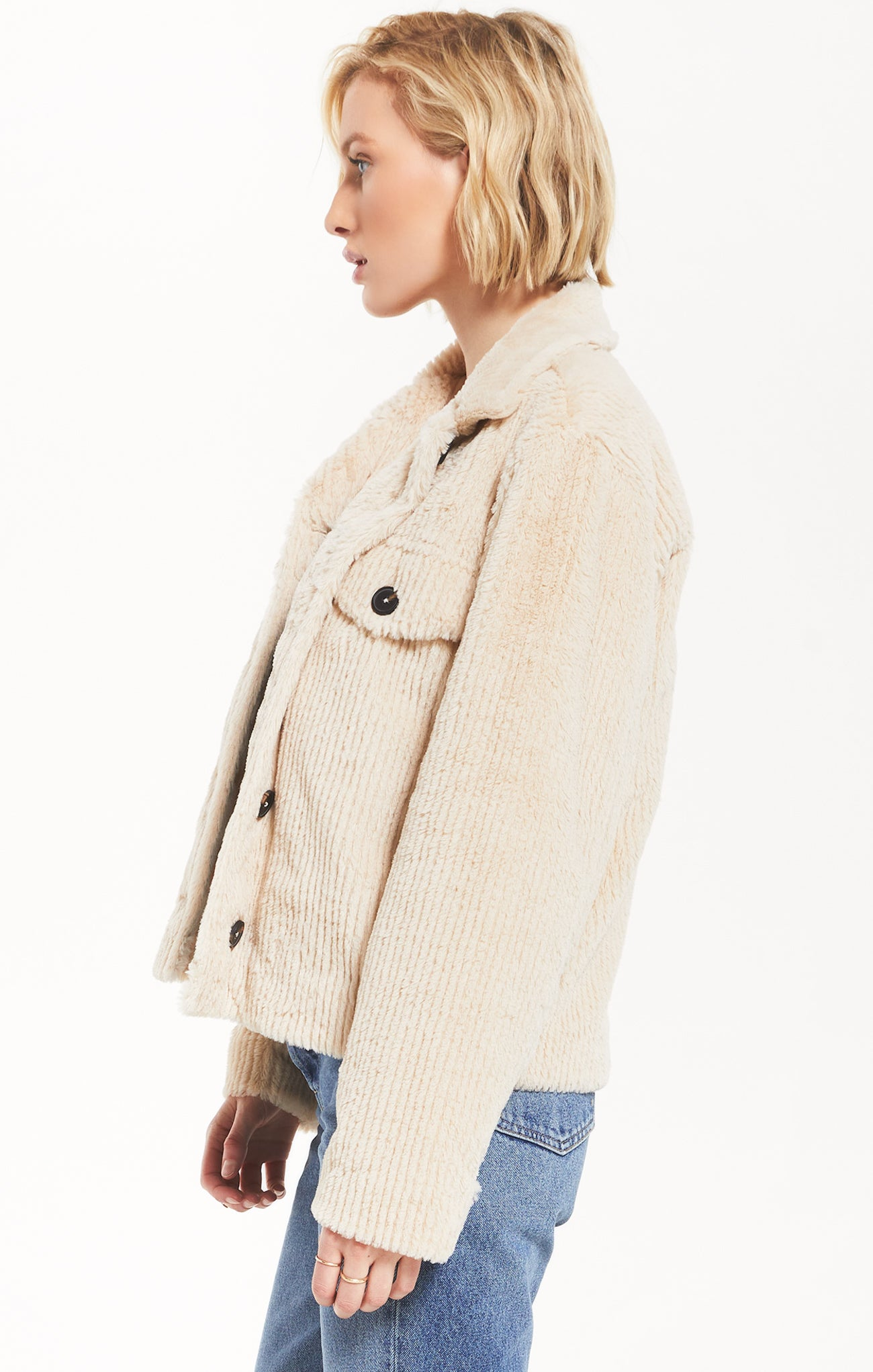 Jackets Corvin Jacket by Rag Poets Bone
