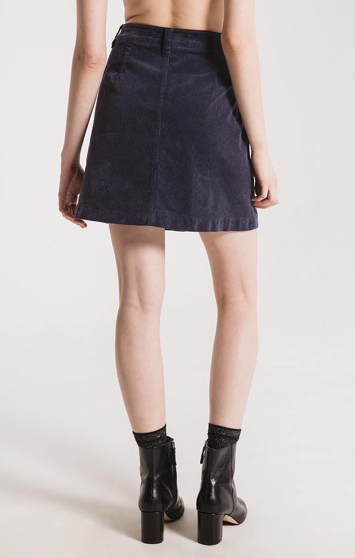 Skirts Barclay Corduroy Skirt By Rag Poets Graphite