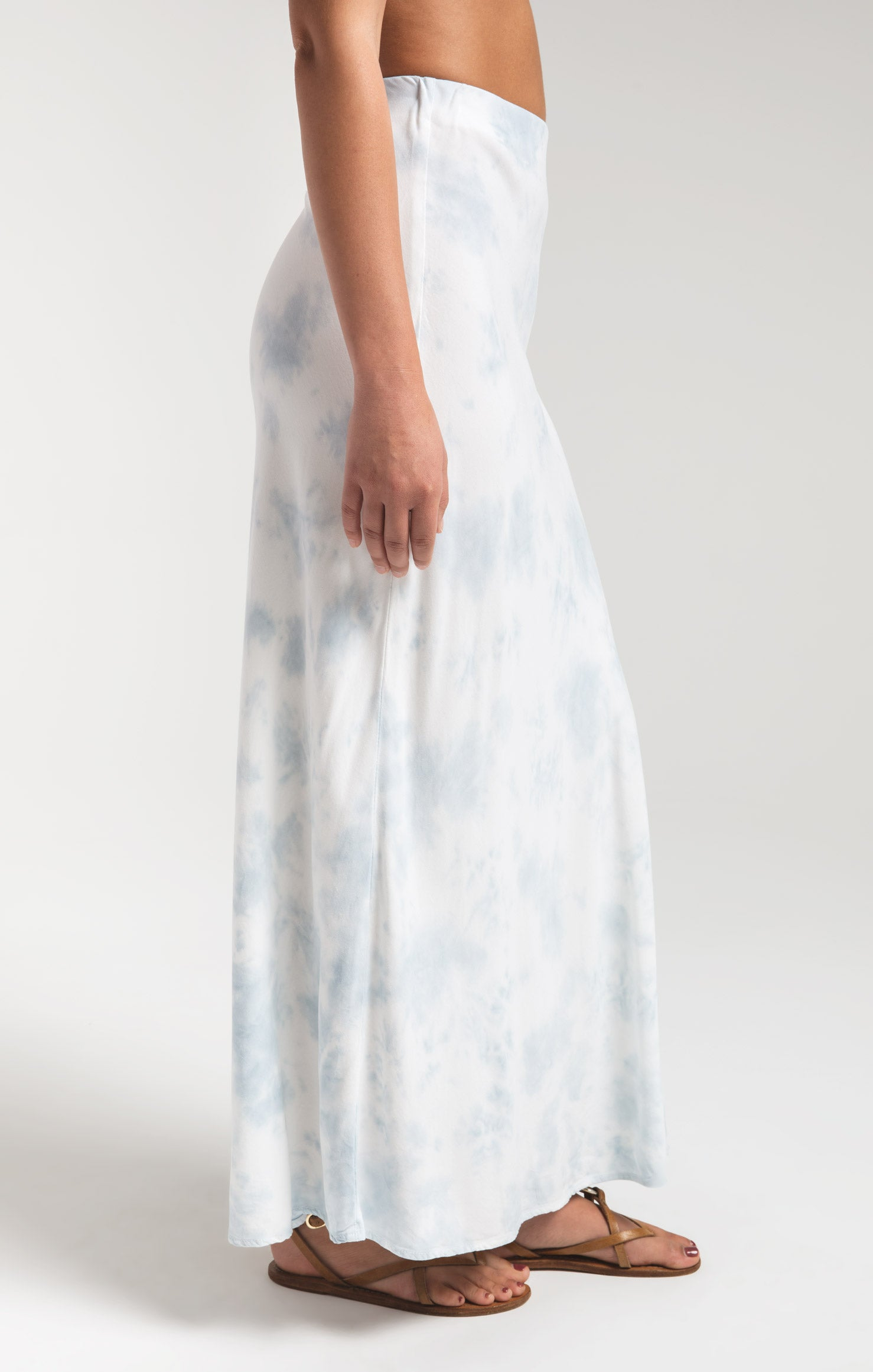 Skirts Ketut Skirt by Rag Poets Light Blue