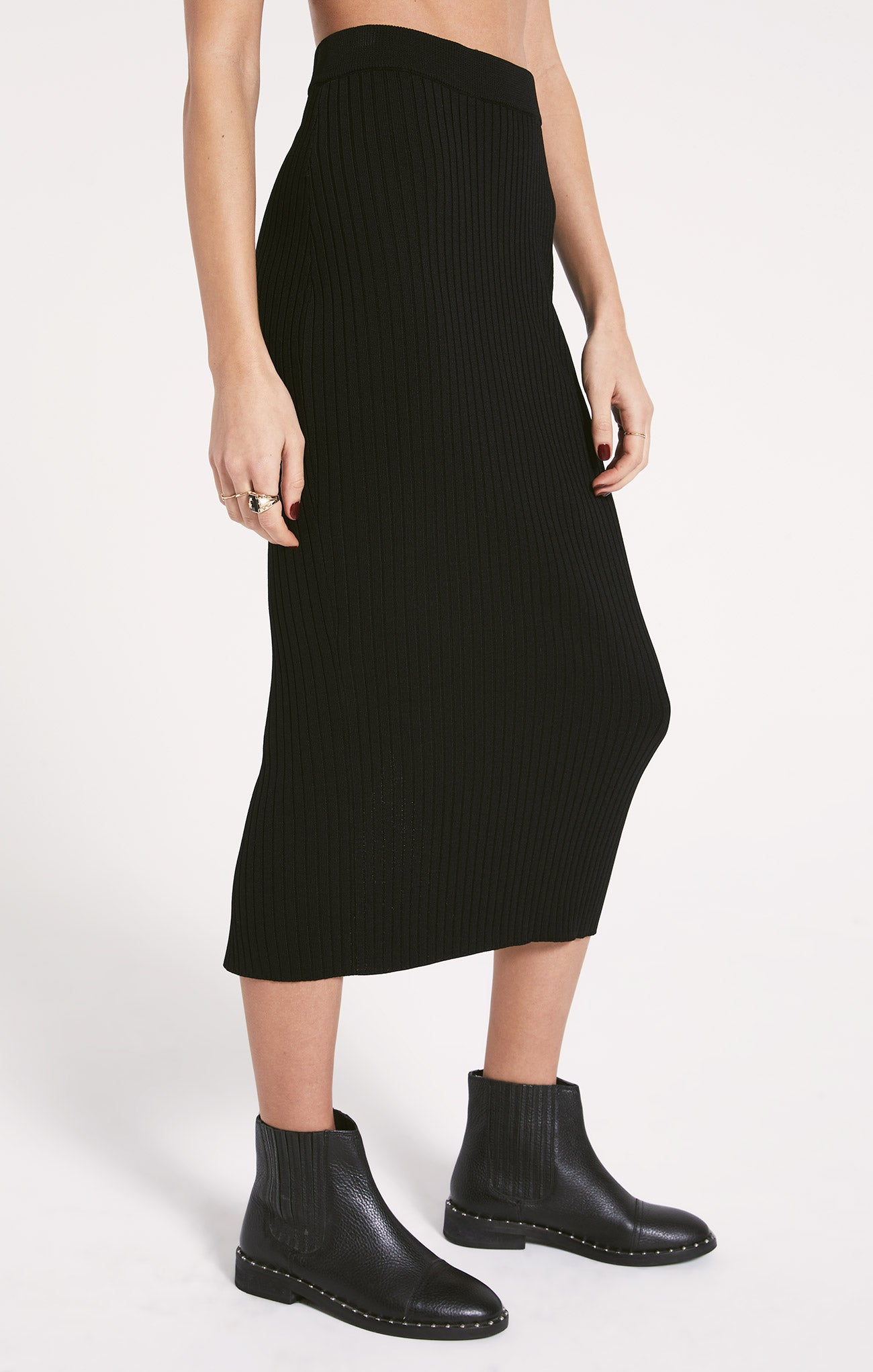 Skirts Les Halles Skirt by Rag Poets Black