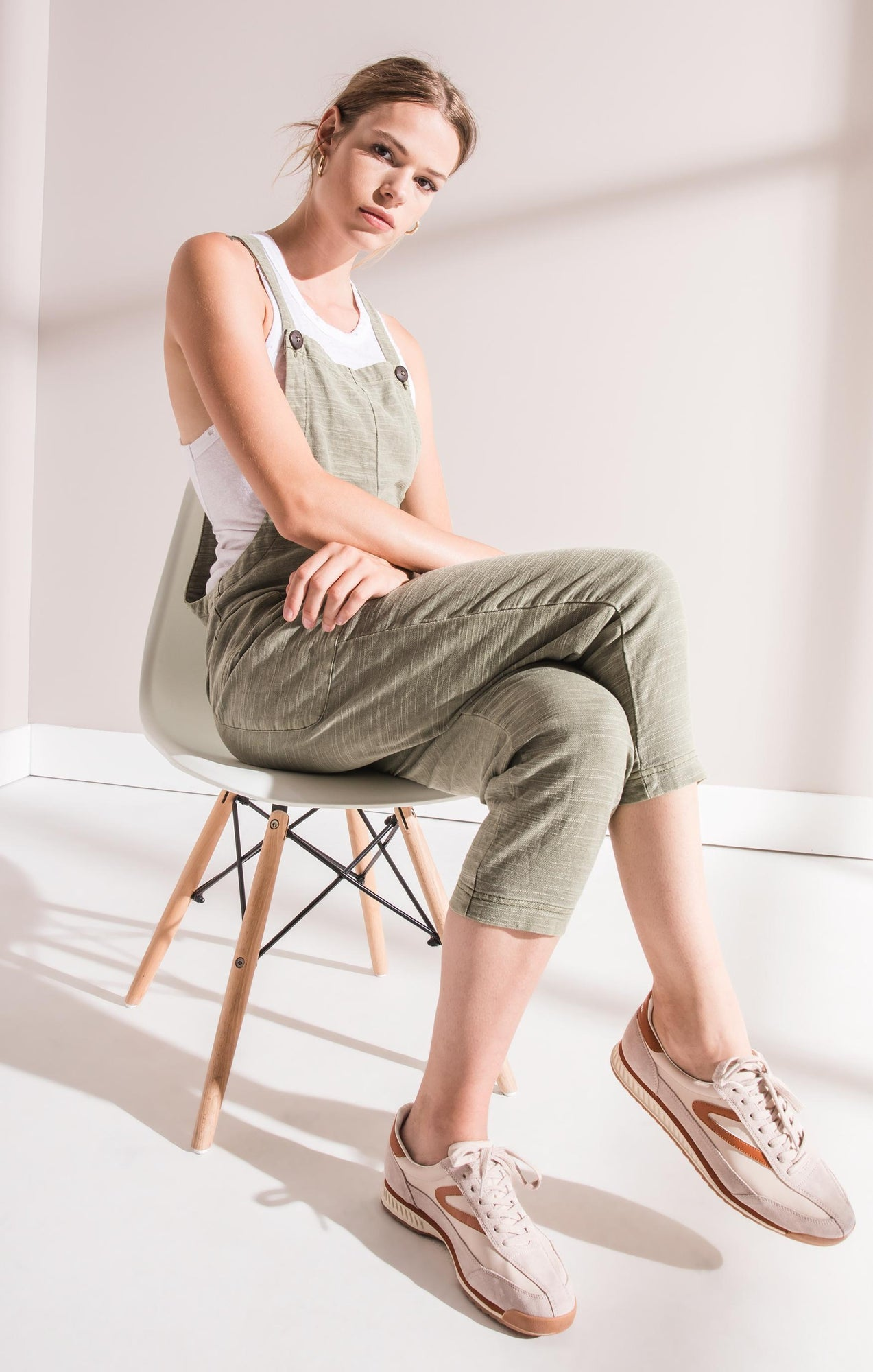 Pants Cavallo Linen Jumpsuit By Rag Poets Four Leaf Clover