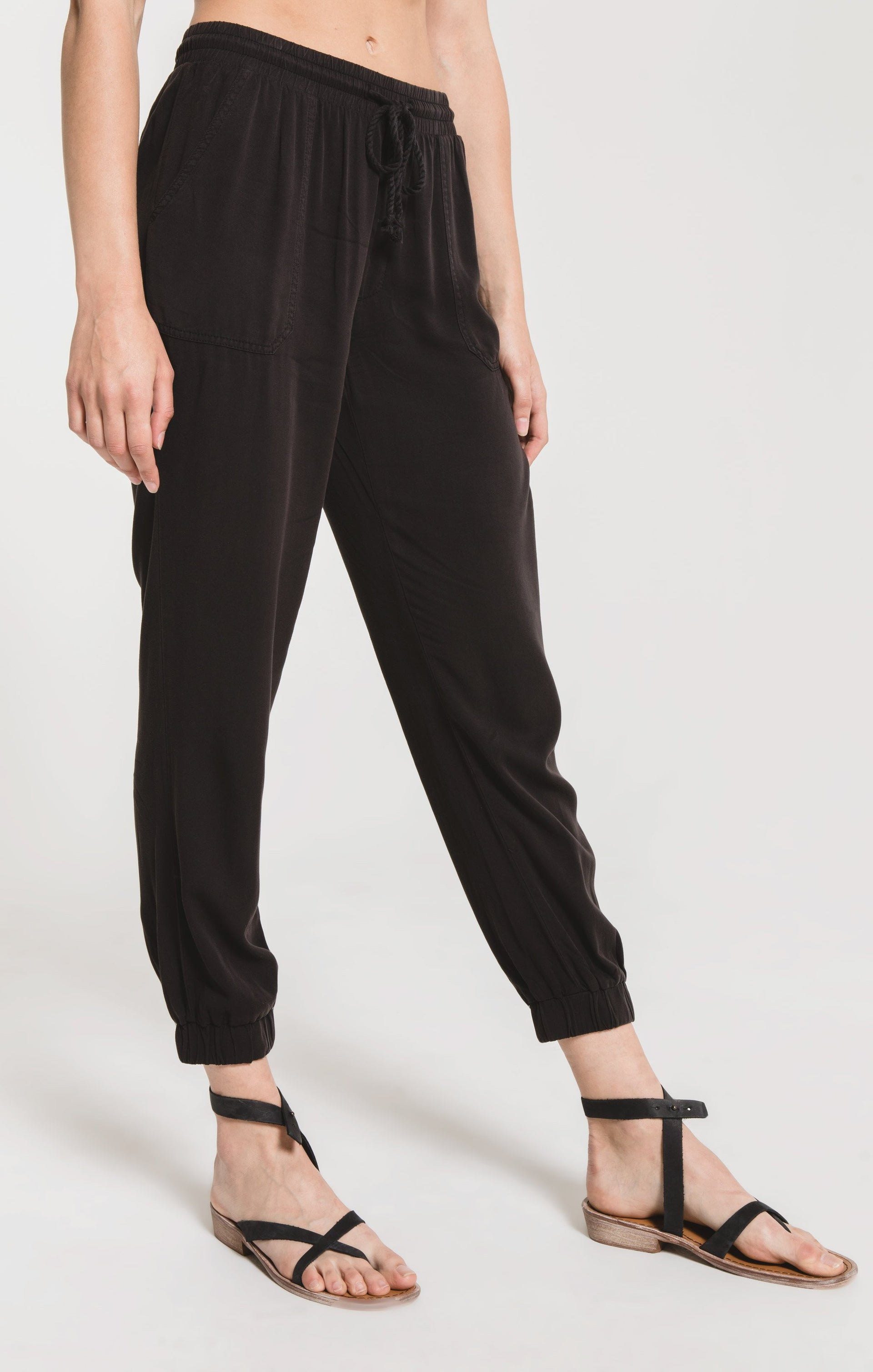 Pants Piedmont Jogger Pant by Rag Poets Washed Black