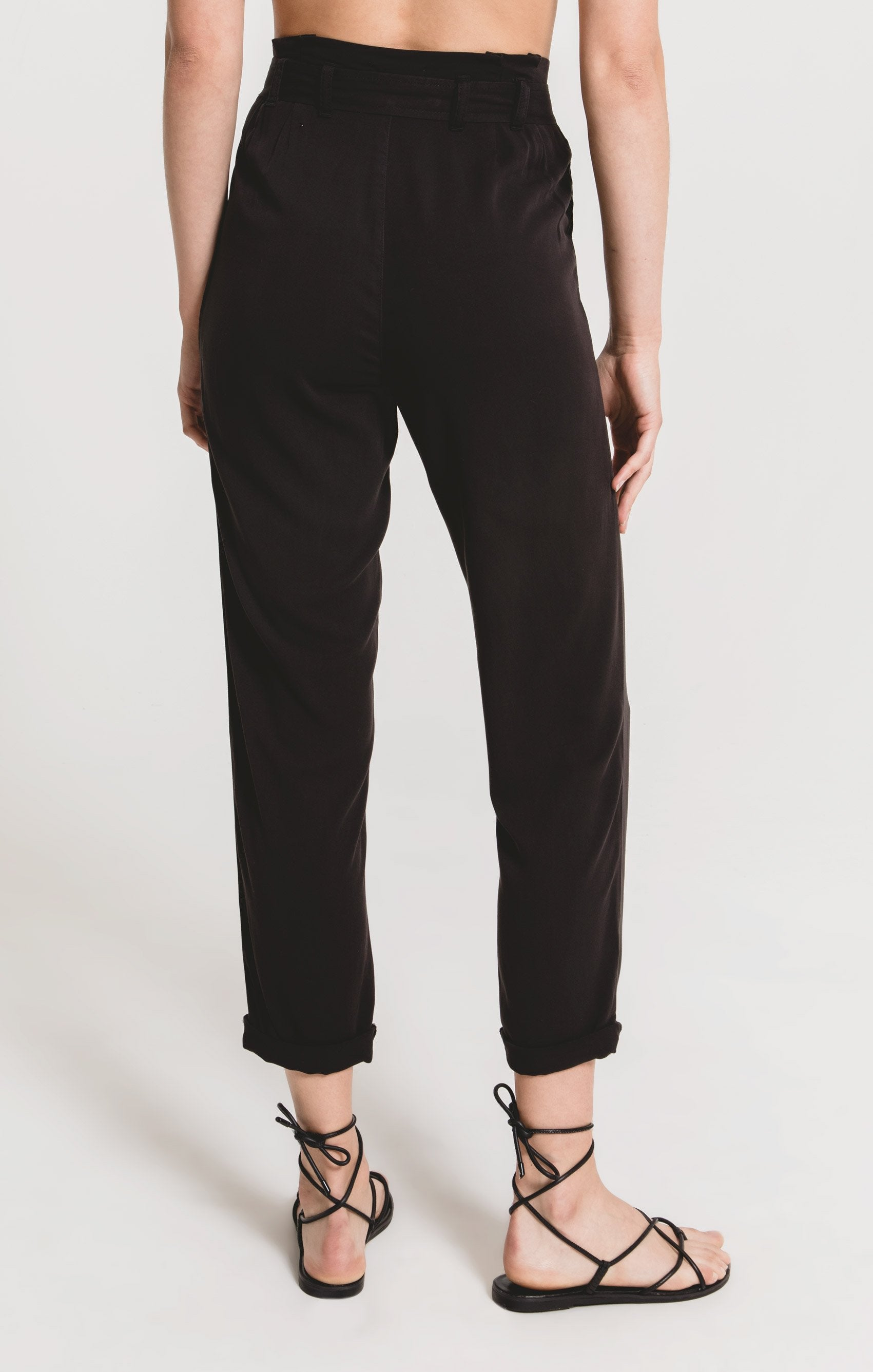 Pants Lombardy Pant by Rag Poets Washed Black