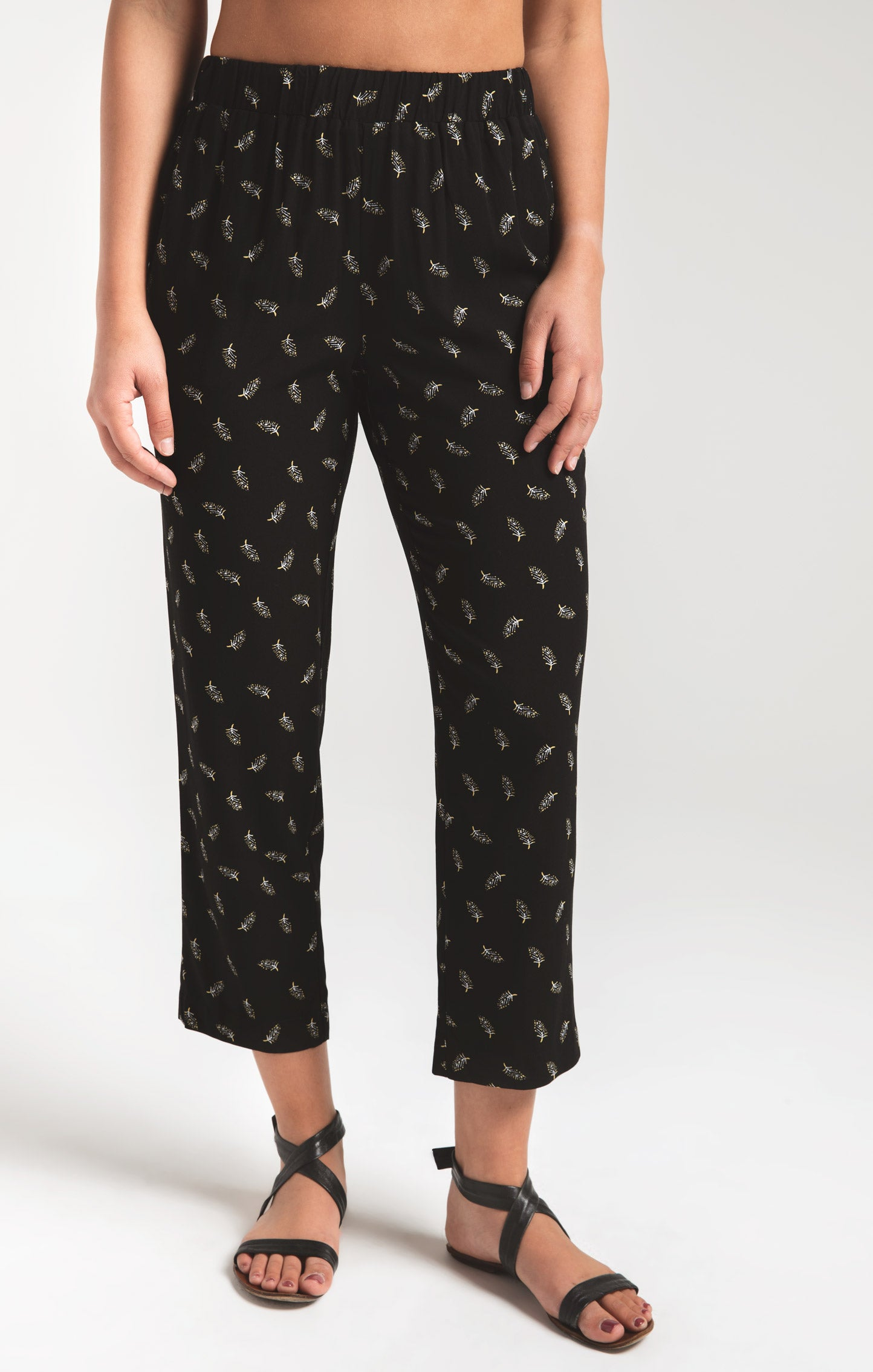 Pants Balian Beach Pant by Rag Poets Black