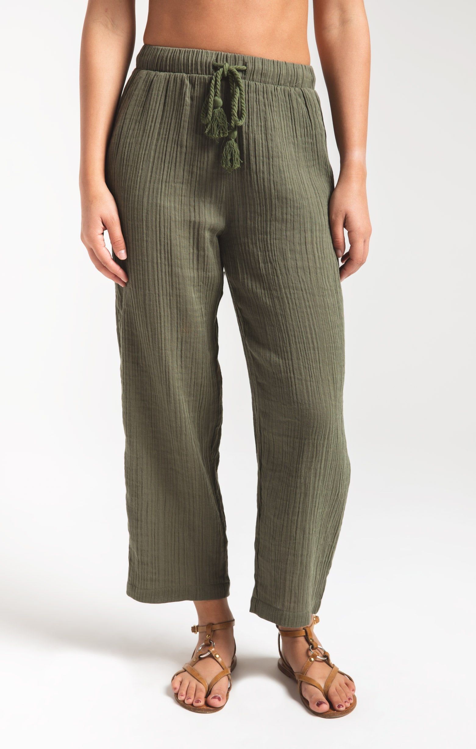 Pants Kemala Pant by Rag Poets Four Leaf Clover