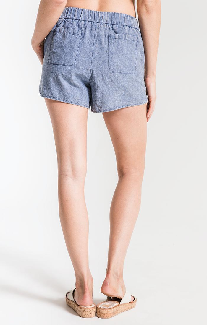 Shorts Loire Braided Shorts By Rag Poets Light Blue