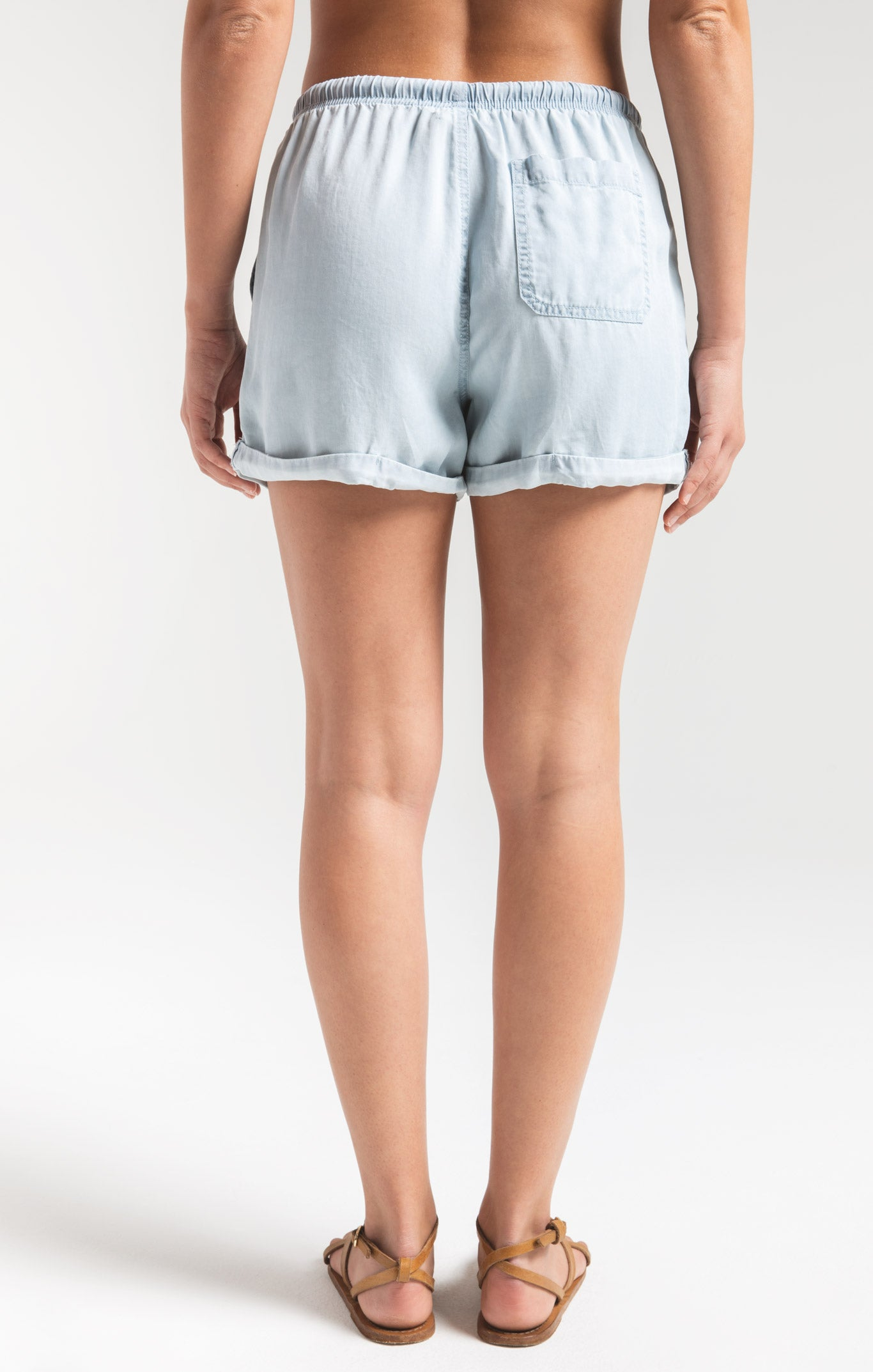 Shorts Dreamland Beach Short by Rag Poets Light Blue Wash