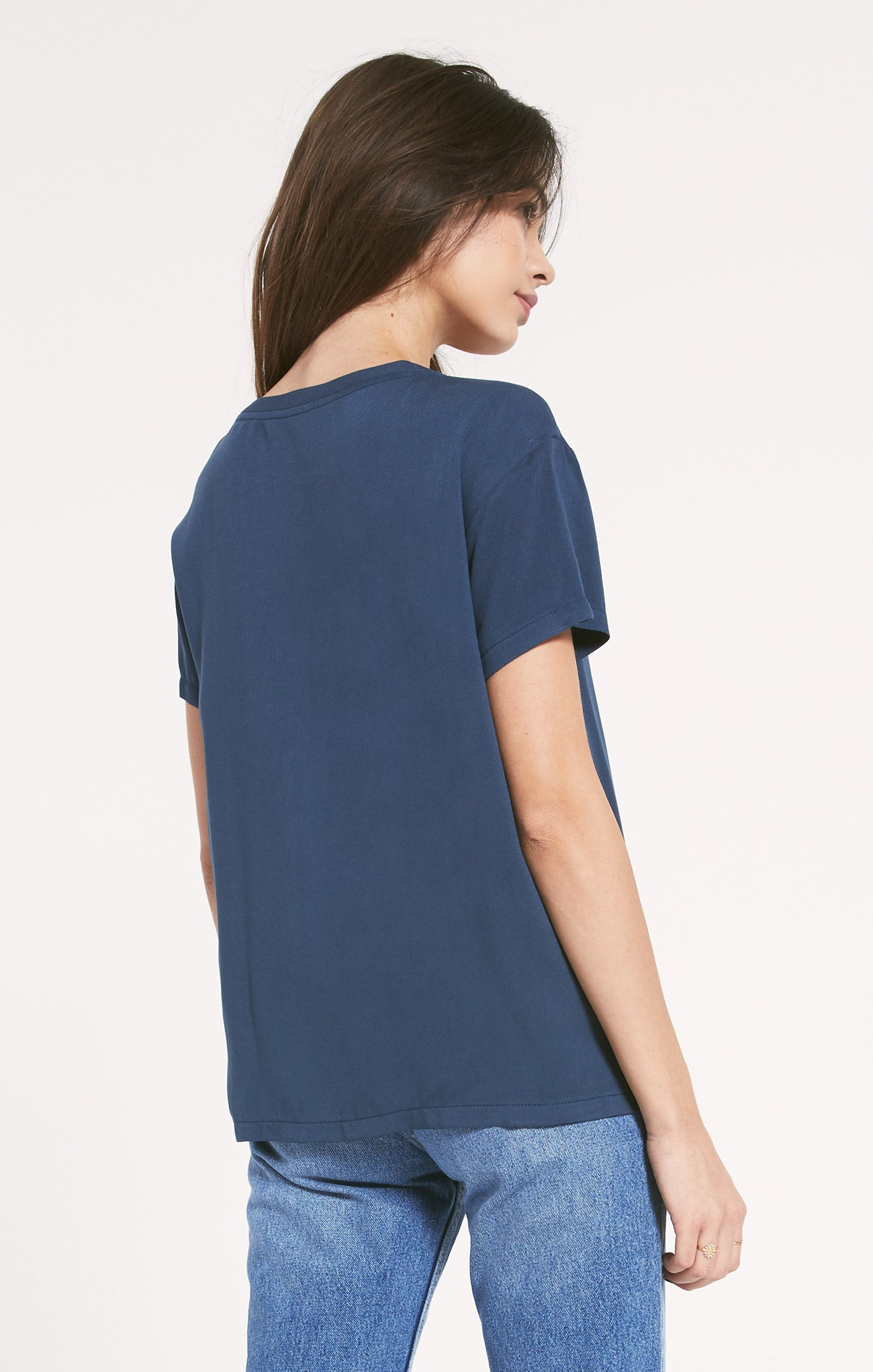 Tops Hagia V-Neck Tee by Rag Poets Hagia V-Neck Tee by Rag Poets