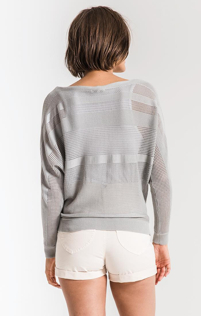 Sweaters Nikki Beach Knitwear Sweater By Rag Poets Grey Dawn