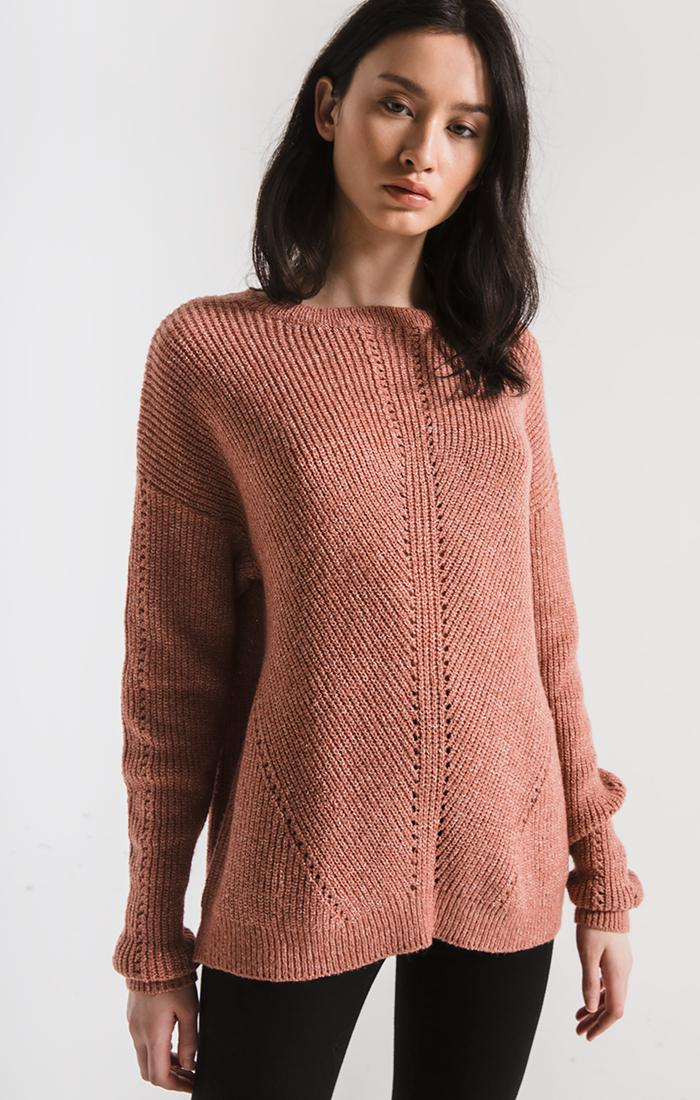 Sweaters Greenpoint Knit Sweater By Rag Poets Sycamore