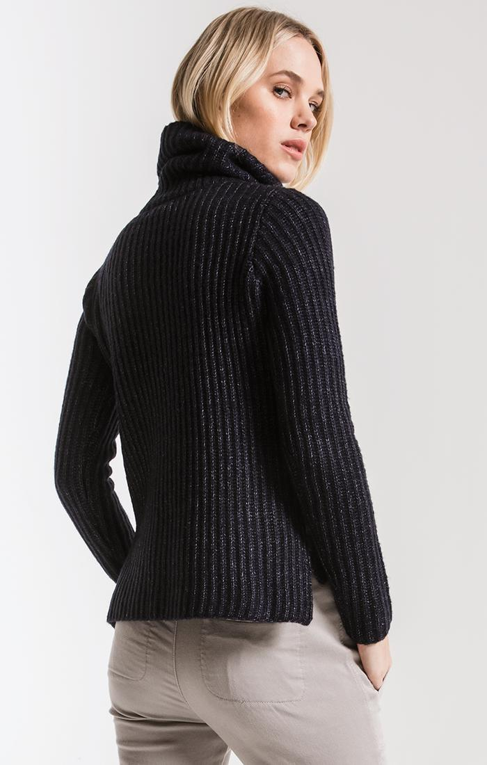 Sweaters Boerum Hill Turtleneck Sweater By Rag Poets Heather Navy