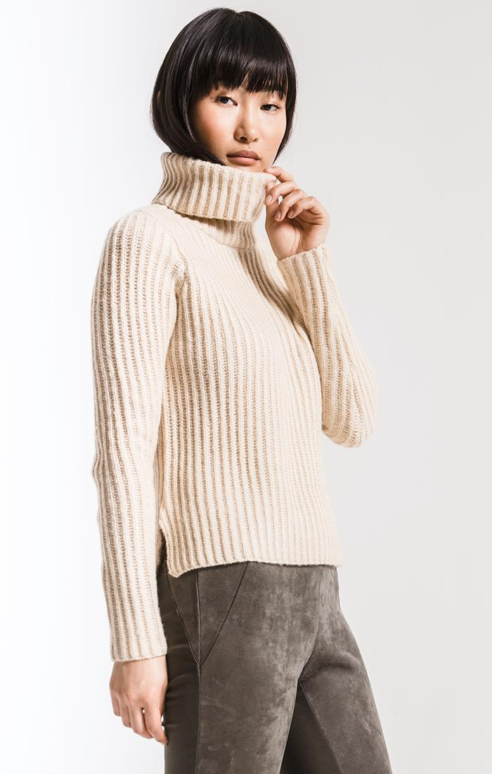 Sweaters Boerum Hill Turtleneck Sweater By Rag Poets Oatmeal
