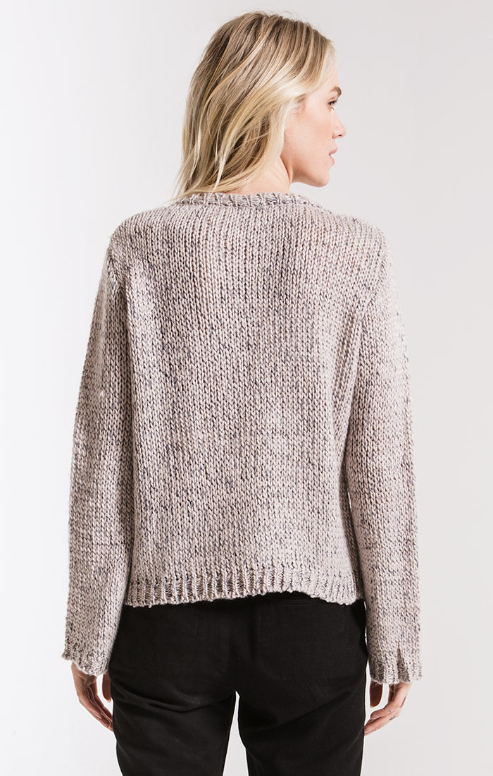 Sweaters Washington Knit Sweater By Rag Poets Ash Grey