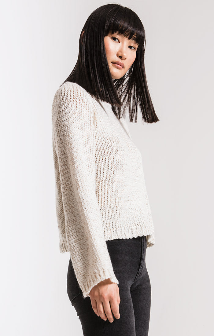 Sweaters Washington Knit Sweater By Rag Poets Winter White