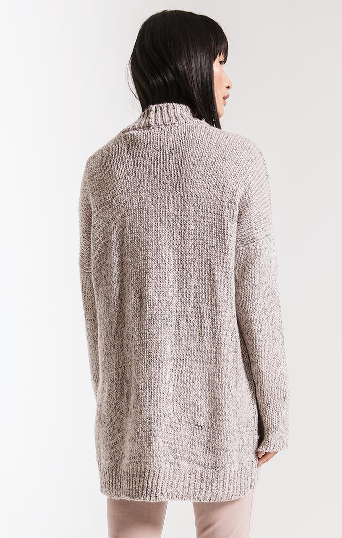 Sweaters Noble Knit Cardigan By Rag Poets Ash Grey