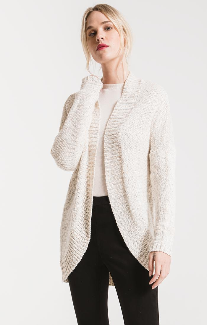 Sweaters Noble Knit Cardigan By Rag Poets Winter White