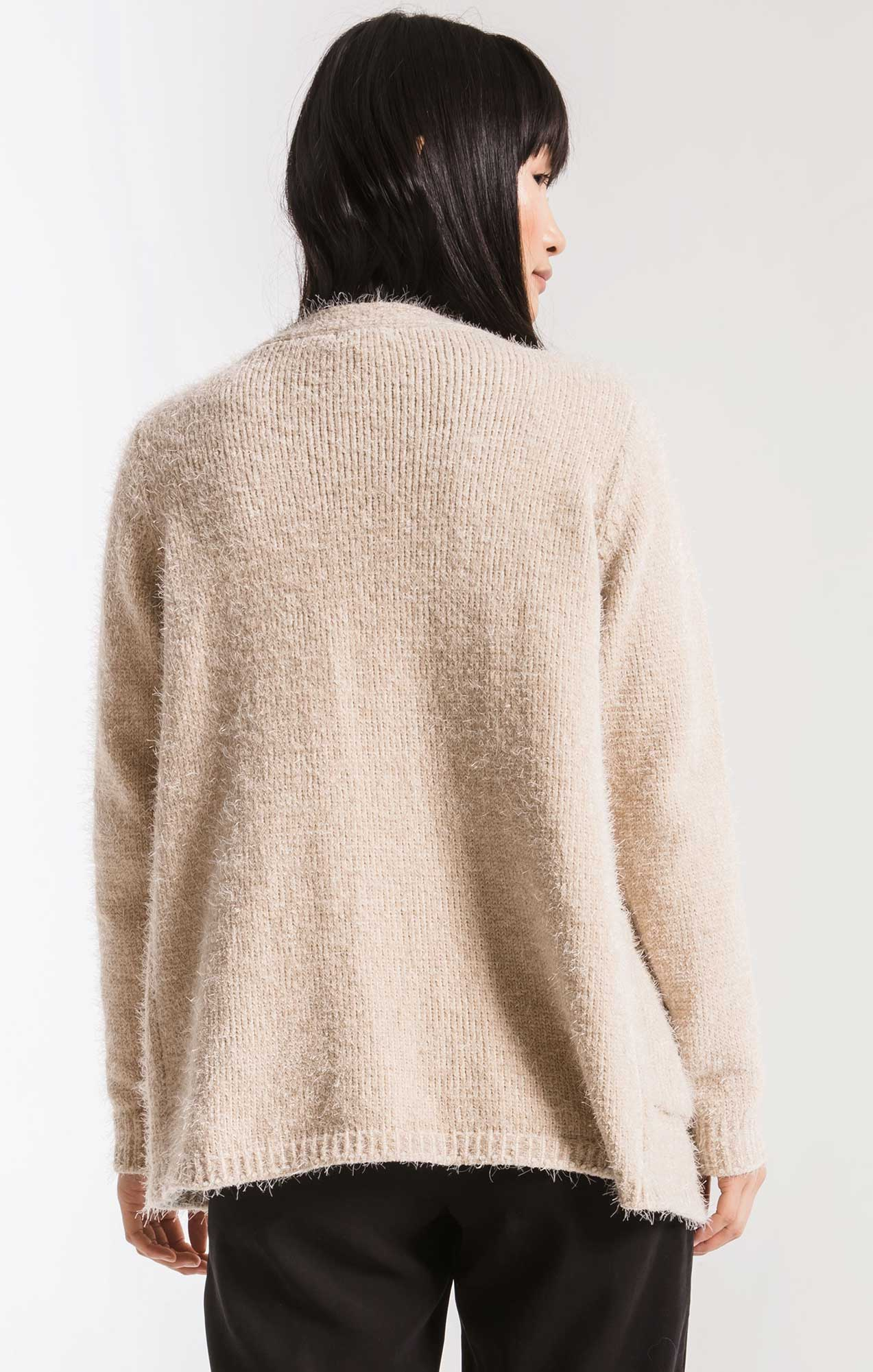 Sweaters Seneca Knit Cardigan By Rag Poets Oatmeal